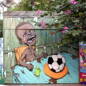 Street art au Brésil