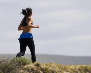 régime alimentaire après les fêtes: jogging