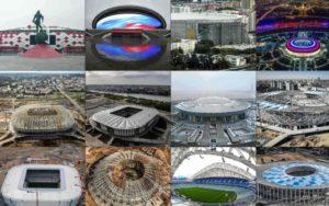Stades coupe du monde 2018