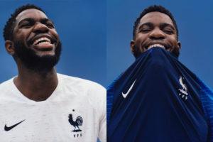 Maillot de l'équipe de France 2018
