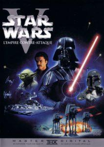 jaquette dvd de l'épisode 5 de la saga star wars