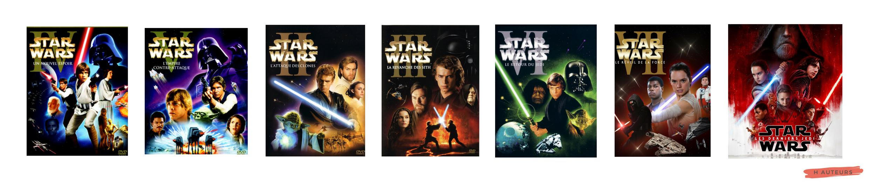 regarder les films star wars dans l'ordre à la machette