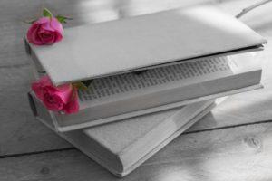 Couverture de livre blanche