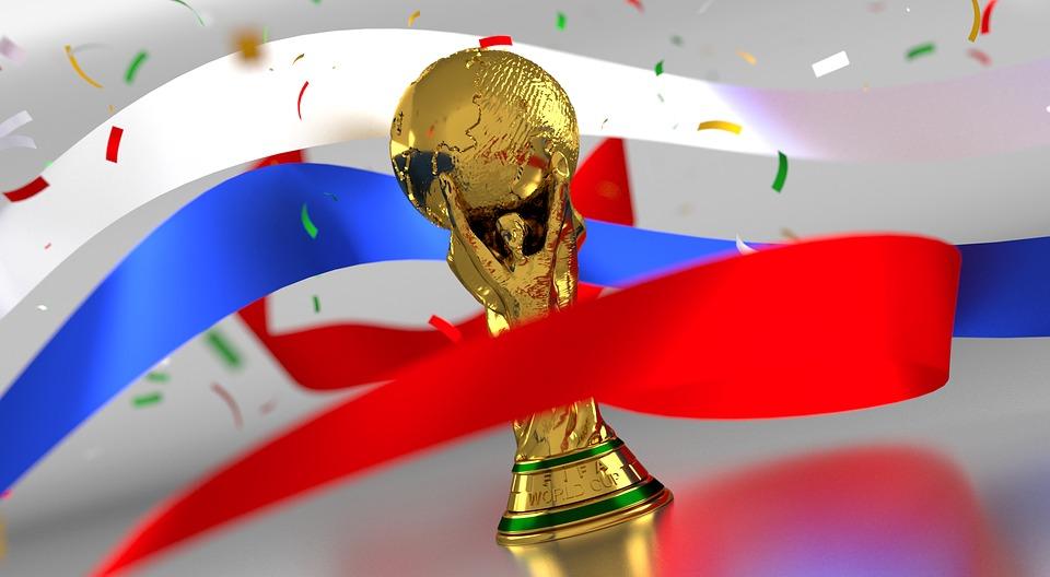 Photo de présentation coupe du monde 2018