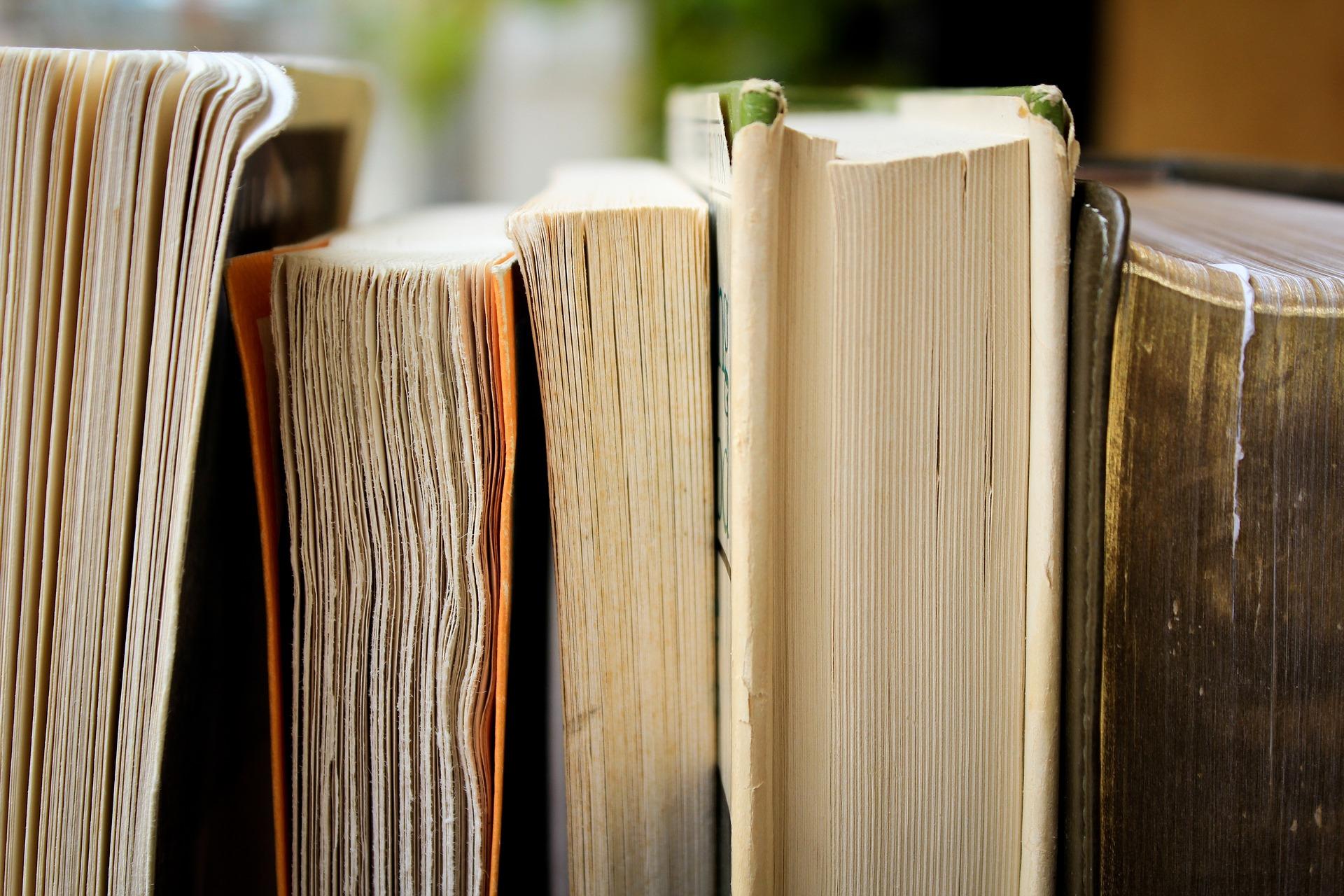Tranches de différents livres