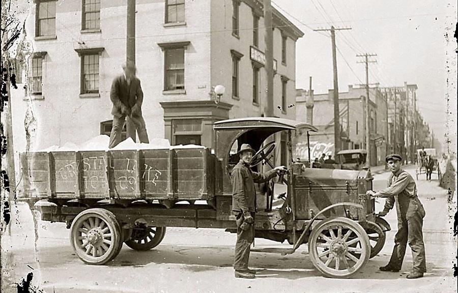 Histoire livraison de glace