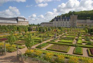 jardin chateau de la loire