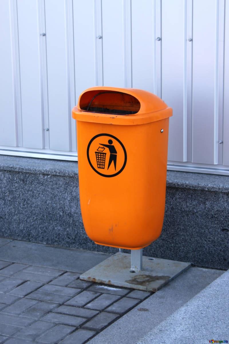 poubelle dechet