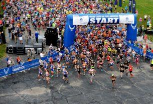 marathon coureur au départ
