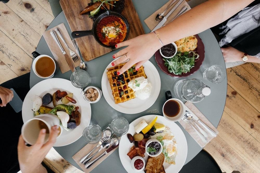 petit-déjeuner d'entreprise