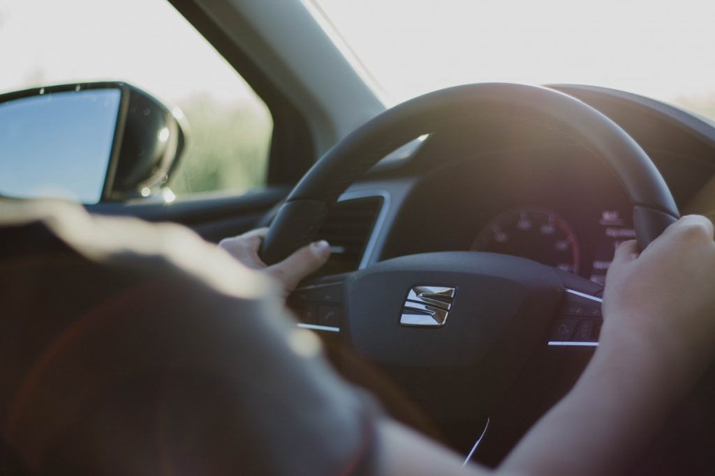 Volant voiture seat